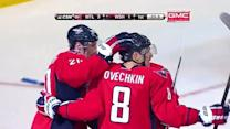 Alex Ovechkin nets two goals against Habs'
