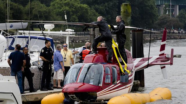 Helicopter Pilot Says He's No Hero