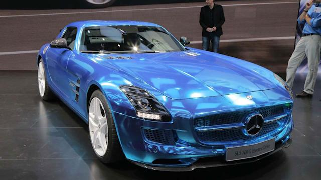 Mercedes-Benz SLS AMG Coupe Electric Drive - 2012 Paris Auto Show