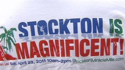 Stockton Residents Hold 'Anti-Misery' Ralley
