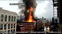 Firefighters Remain On Scene Of East Village Blast, Fire That Left 19 Hurt