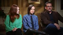 Steve Carell, Julianne Moore, Ellen Page on Making 'Freeheld'