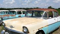 Classic Cars, Some Never Driven, Up for Auction