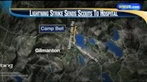 23 Boy Scouts taken to hospital after lightning strike