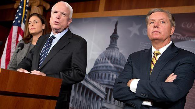 Republicans call for a select committee on Libya