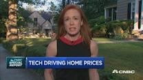 Tech driving home prices