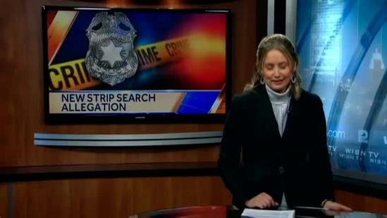 Strip search charges prompting new allegation