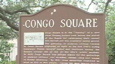 City Council Wants Congo Square To Be Official