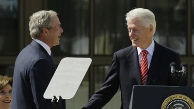 Bill Clinton: 'I Like President Bush'