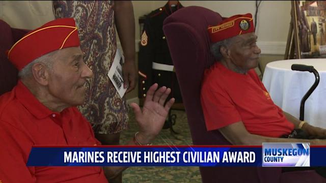 Nation`s First Black Marines Honored