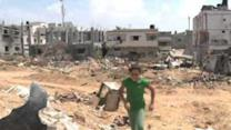 UNRWA on Gaza Destruction: 'Only Rubble Where Homes Once Stood'