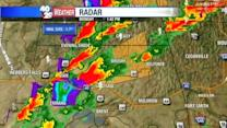 VIDEO: Monday Afternoon Severe Thunderstorms, Hail