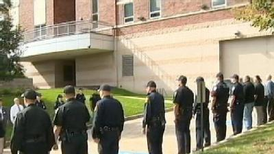 Community Grieves For Fallen Police Officer