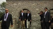 Kerry, Lew tour the Great Wall in Beijing