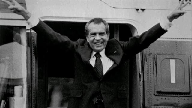 All That Mattered: President Richard Nixon resigns from office 39 years ago