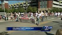 Labor Day parade celebrates American workers