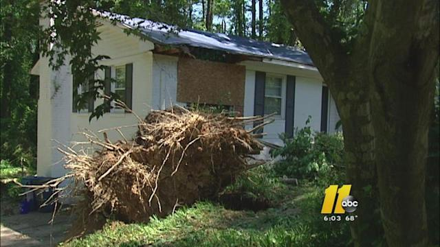 Tornado clean up continues in Durham
