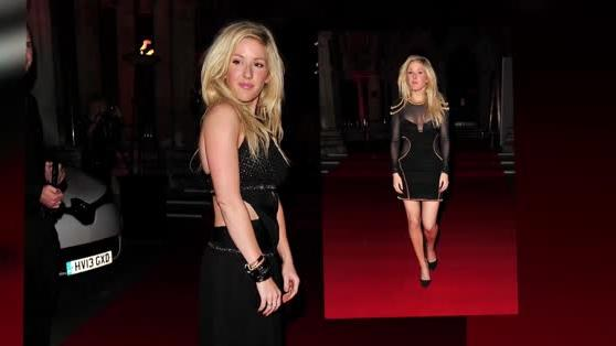 Ellie Goulding Dazzles in Two Different Looks at the Attitude Magazine Awards