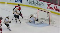 Bobby Ryan dekes out Johnson on the breakaway