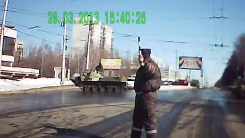 How Not to Drive an Army Tank!
