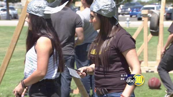 Merced College students learn to