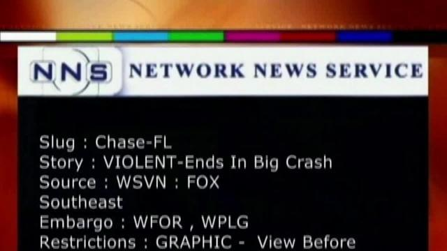 High Speed crash in South Florida