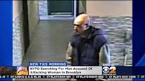 NYPD Searches For Suspect In Brooklyn Attack