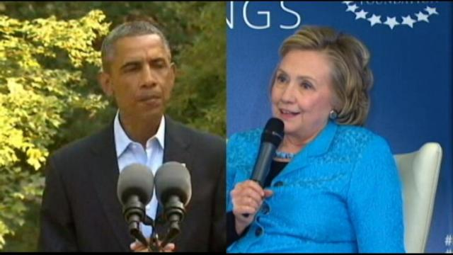 Obama, Hillary Clinton Meet to Smooth Ruffled Feathers