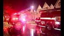 Overnight storm cause damage in Chicago area