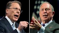 Bloomberg, LaPierre square off in gun control debate