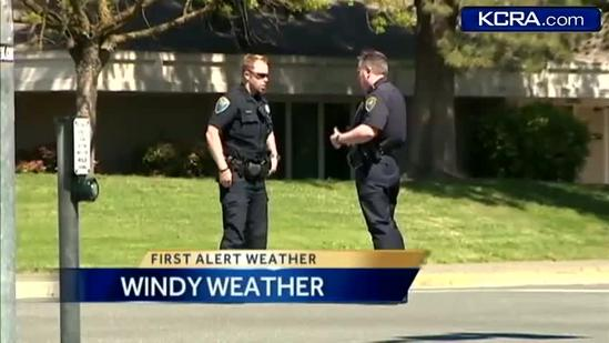 Wind damage seen throughout Northern California