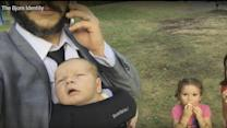 Dad Spoofs Jason Bourne With Hilarious (Baby) Bjorn Identity Video