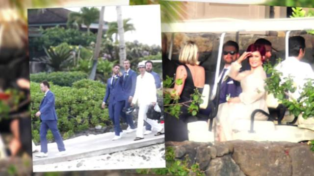 Just Married: Jack Osbourne and Lisa Stelly