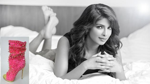 "Priyanka's ""Exotic"" shoes go for auctions!"