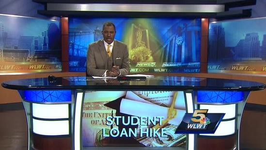 Students concerned as loan interest rates double