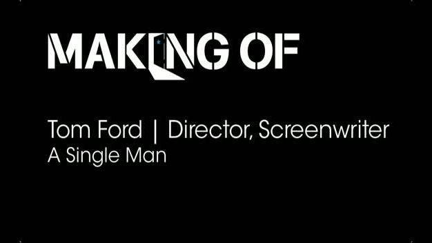 Interview with Writer-Director Tom Ford