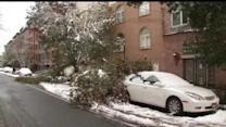 Crews back at work in snow cleanup in New Jersey
