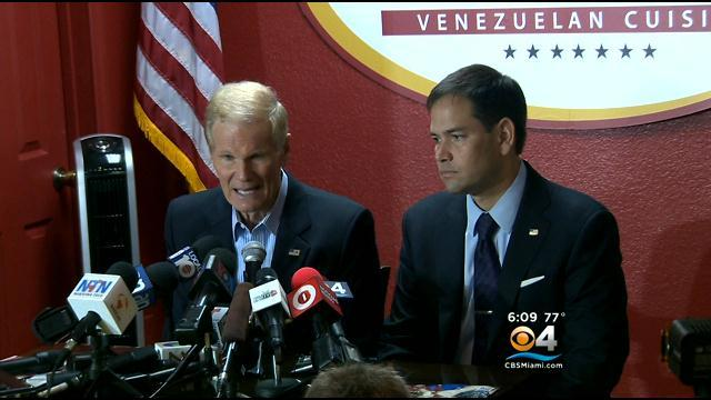 Senators Rubio, Nelson Come Together On Venezuela