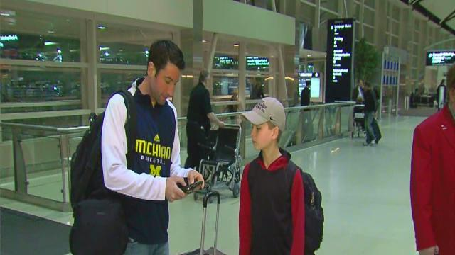 Wolverine fans head to Atlanta