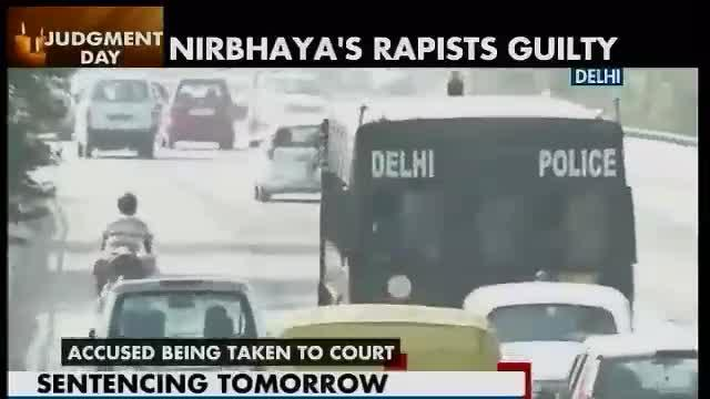 All four accused in Delhi gangrape case found guilty of rape and murder