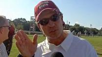 Jimbo Fisher on practice & OU''s no-huddle offense