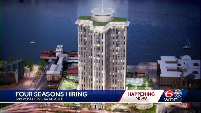 Four Seasons Hotel Hiring In New Orleans