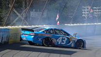 Almirola has tire issue