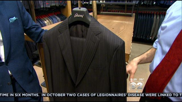 Syd Jerome Men's Wear Helping Chicago Dress For Success