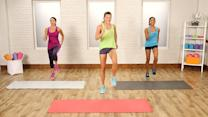 Burn Up the Calories With This At-Home Cardio Workout