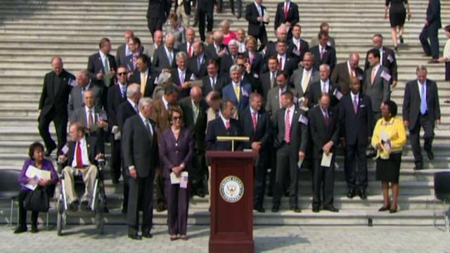 Obama To House: Just Vote To Reopen Gov`t.