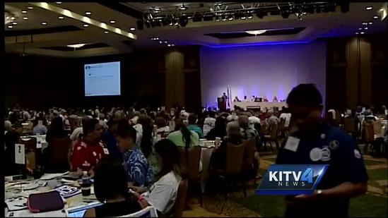 Hawaii Democrats talk party unity at state convention