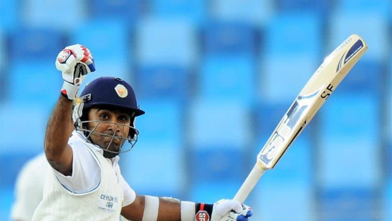 Mahela Jayawardene missed out on the highest individual score in Tests by just 26 runs