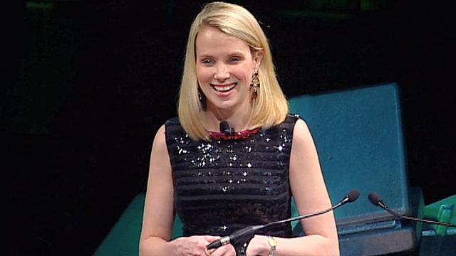 Marissa Mayer welcomes in 2012 Crunchies