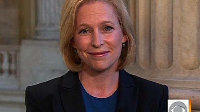 Sen. Gillibrand on closing lawmakers' loophole